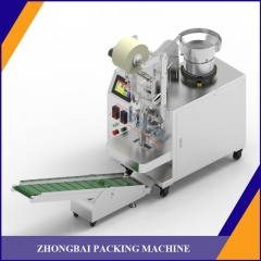 Counting packing machine with one bowl
